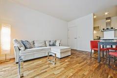 Abra la sala de estar del plan Imagen de archivo libre de regalías