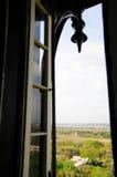 Abra la ventana del faro, St Augustine FL Imágenes de archivo libres de regalías