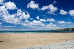 Abra largamente a cena da praia fotografia de stock royalty free