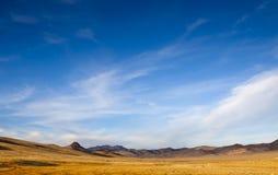 Abra largamente o deserto fotos de stock royalty free