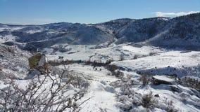Abra largamente o inverno Foto de Stock