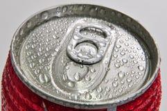 Abra a lata de alumínio Fotos de Stock
