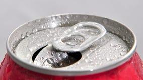 Abra a lata de alumínio Imagem de Stock