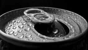 Abra a lata de alumínio Foto de Stock Royalty Free