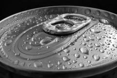 Abra a lata de alumínio Imagens de Stock