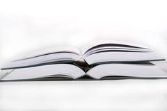 Abra livros foto de stock