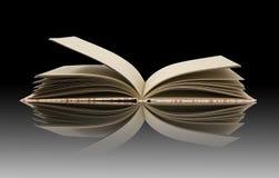 Abra los libros Imagen de archivo libre de regalías