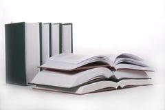 Abra los libros Fotos de archivo libres de regalías