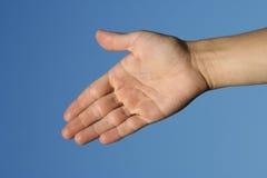 Abra a mão Foto de Stock Royalty Free