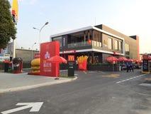 Abra nuevamente a McDonalds en Saigon Imagen de archivo