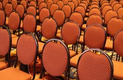 Abra o assento em um auditório Fotografia de Stock