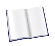 Abra o bloco de notas Imagens de Stock