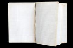 Abra o caderno Imagem de Stock Royalty Free