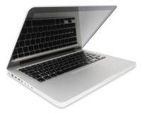 Abra o computador portátil Foto de Stock Royalty Free