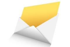Abra o correio 3d  Foto de Stock