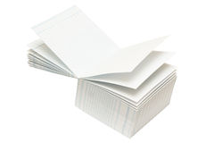 Abra o cubo de papel Imagens de Stock