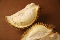 Abra o durian imagens de stock
