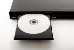 Abra o DVD-Jogador Imagem de Stock Royalty Free