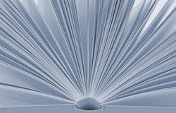 Abra o fundo do livro Imagem de Stock