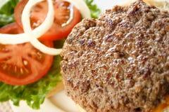 Abra o Hamburger Fotos de Stock