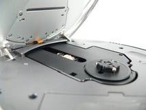 Abra o jogador de disco compacto Foto de Stock