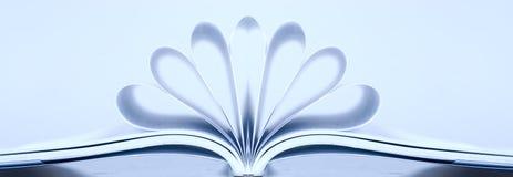 Abra o livro Fotografia de Stock