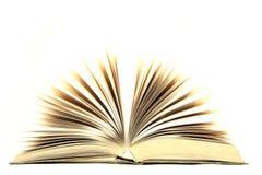 Abra o livro Foto de Stock