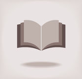 Abra o livro. Foto de Stock