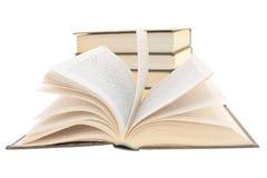 Abra o livro Fotos de Stock Royalty Free