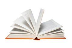 Abra o livro. imagens de stock