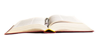 Abra o livro - aprendendo Imagens de Stock