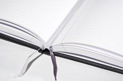 Abra o livro com endereços da Internet Fotografia de Stock