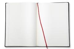 Abra o livro de exercício em branco. Fotografia de Stock Royalty Free