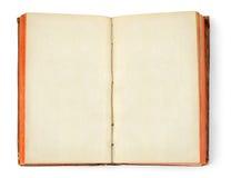 Abra o livro do oid Fotografia de Stock