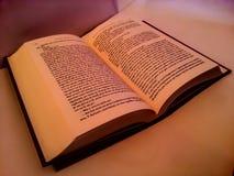 Abra o livro (o fundo) Fotos de Stock Royalty Free