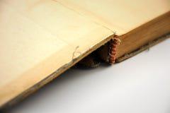 Abra o livro velho foto de stock