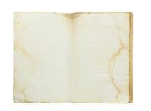Abra o livro velho Imagem de Stock