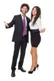 Abra o negócio dos braços Fotografia de Stock Royalty Free