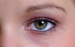 Abra o olho Imagem de Stock