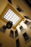 Abra o pátio de uma casa marroquina Fotografia de Stock Royalty Free
