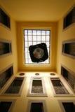 Abra o pátio de uma casa marroquina tradicional Fotografia de Stock Royalty Free