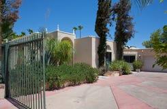 Abra o Palm Springs da porta Imagem de Stock Royalty Free