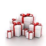 Abra o presente Foto de Stock Royalty Free