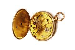 Abra o relógio Fotografia de Stock Royalty Free