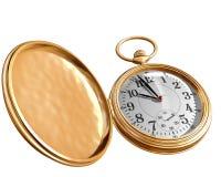 Abra o relógio de bolso Fotos de Stock
