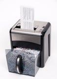 Abra o shredder de papel Fotografia de Stock Royalty Free