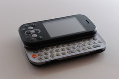 Abra o telefone moderno Foto de Stock Royalty Free