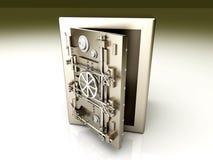 Abra o Vault Imagens de Stock