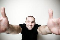 Abra os braços. Fotos de Stock Royalty Free