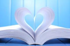 Abra páginas do livro Imagens de Stock Royalty Free